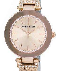 アン ・ クライン水晶スワロフ スキー クリスタル 1906RGRG レディース腕時計