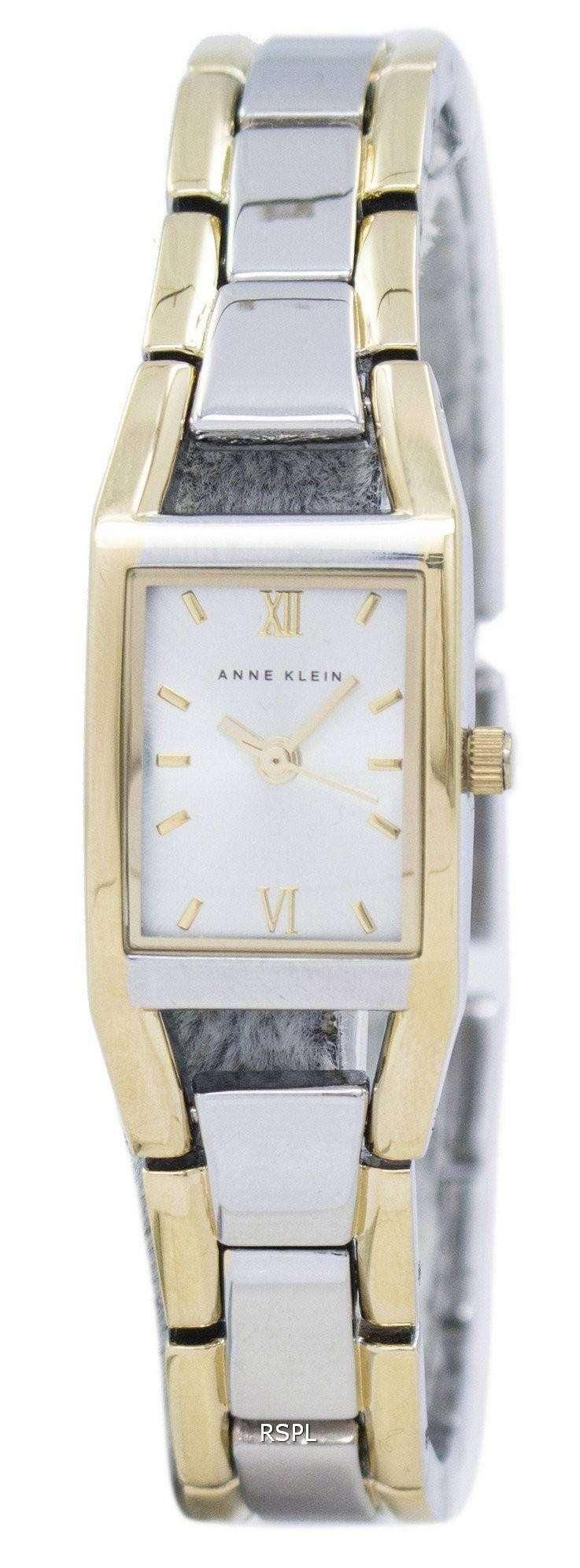 アン ・ クライン石英 6419SVTT レディース腕時計