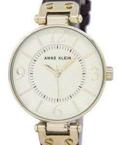アン ・ クライン石英 9168IVBN レディース腕時計