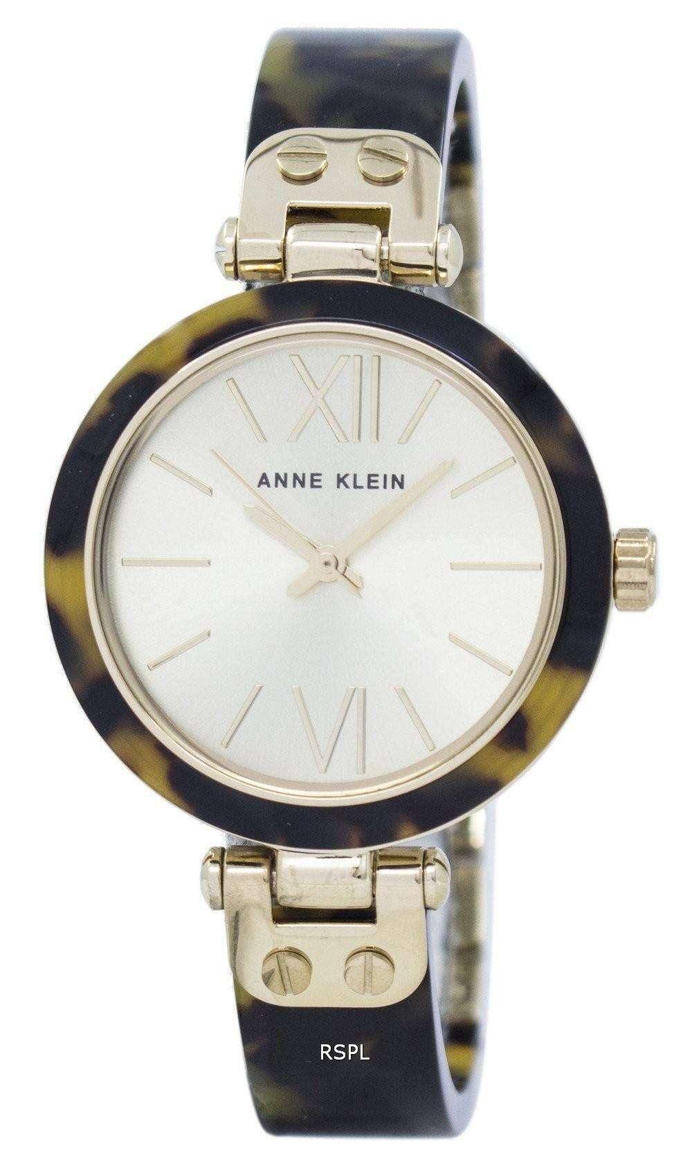 アン ・ クライン石英 9652CHTO レディース腕時計