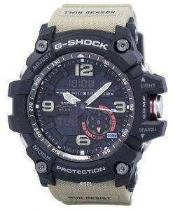 カシオ G ショック Mudmaster アナログ デジタル ツイン センサー GG 1000 1A5 メンズ腕時計