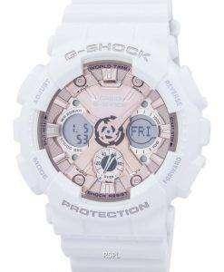 カシオ G-ショック ショック耐性の世界時間アナログ デジタル GMA S120MF 7A2 メンズ腕時計