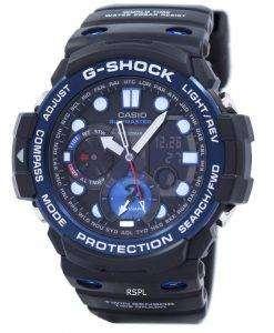 カシオ G ショック GULFMASTER ツイン センサー ムーンデータ潮汐グラフ GN 1000B 1 a メンズ腕時計