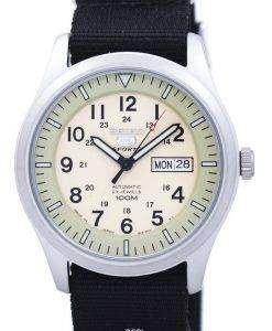 セイコー 5 スポーツ軍事自動日本製 NATO ストラップ SNZG07J1 NATO4 メンズ腕時計