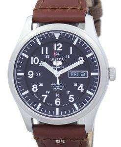 セイコー 5 スポーツ自動日本製キャンバス ストラップ SNZG15J1 NS1 メンズ腕時計