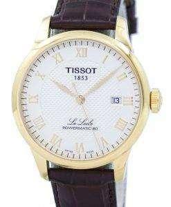 ティソ T-クラシック ル ・ ロックル Powermatic 80 自動 T006.407.36.263.00 T0064073626300 メンズ腕時計