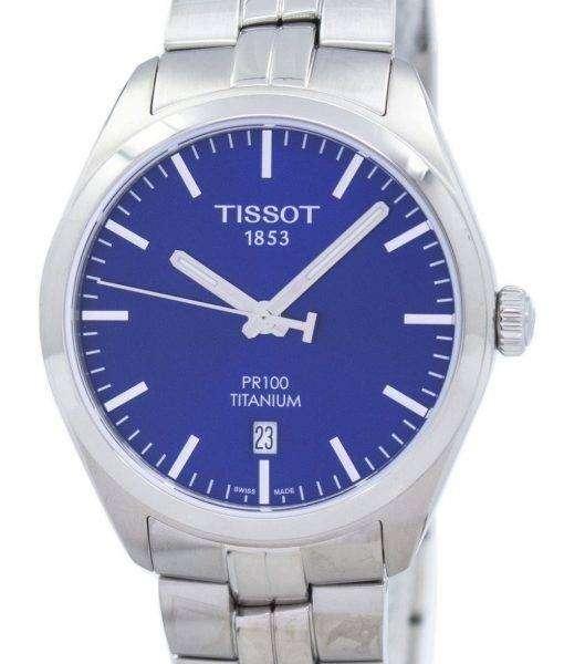 Tissot T-Classic PR 100 Titanium Quartz T101.410.44.041.00 Men's Watch