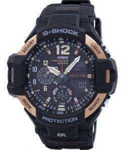 カシオ G ショック GRAVITYMASTER ツイン センサー GA 1100RG 1ADR GA1100RG 1ADR メンズ腕時計