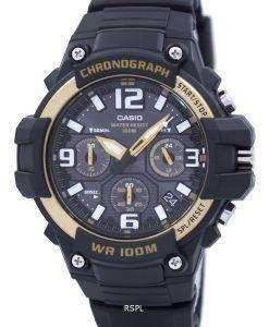 カシオ クロノグラフ アナログ MCW 100 H 9A2VDF MCW100H 9A2VDF メンズ腕時計