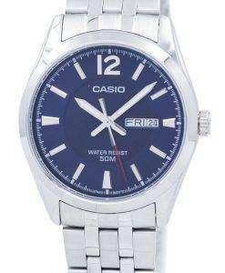 カシオ Enticer アナログ クオーツ MTP 1314 D 2AVDF MTP1314D 2AVDF メンズ腕時計