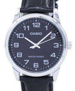 カシオ アナログ クオーツ MTP V001L 1BUDF MTPV001L 1BUDF メンズ腕時計
