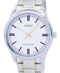 カシオ Enticer アナログ クオーツ MTP V005SG 7AUDF MTPV005SG 7AUDF メンズ腕時計