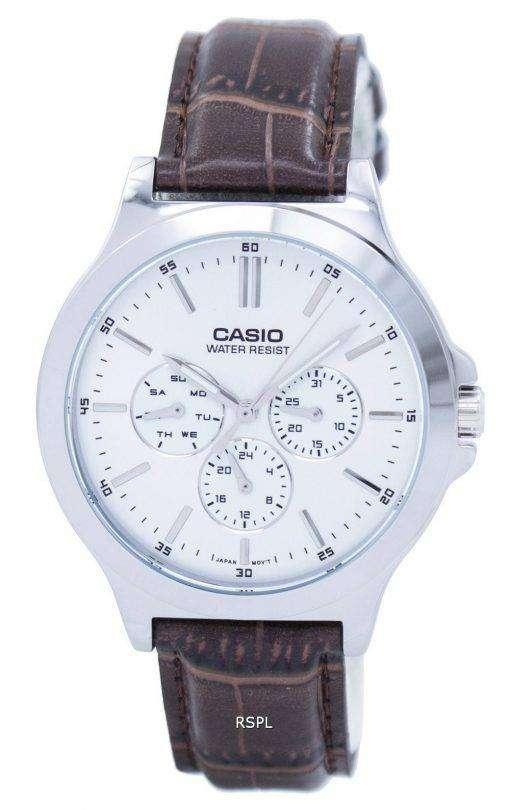 カシオ Enticer アナログ クオーツ MTP V300L 7AUDF MTPV300L 7AUDF メンズ腕時計