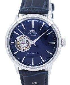 古典的なエレガントなオープン ハート自動 RA AG0005L10B メンズ腕時計をオリエントします。