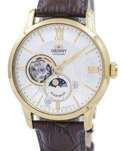 古典的な日・月自動日本 RA AS0004S00B メンズ腕時計オリエントします。