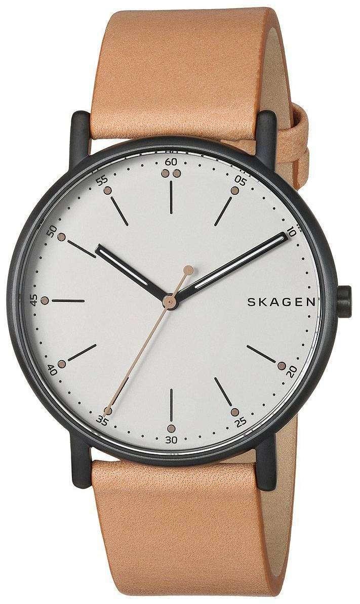 スカーゲン署名アナログ クオーツ SKW6352 メンズ腕時計