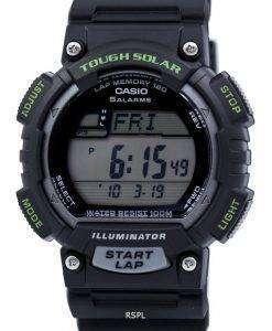 カシオ照明厳しい太陽世界時間 STL S100H 1AV STLS100H-1AV メンズ腕時計
