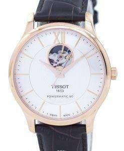 ティソ T-古典的な伝統心を開いて自動 T063.907.36.038.00 T0639073603800 メンズ腕時計