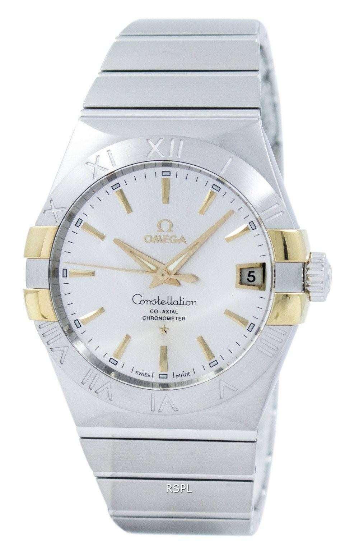 オメガ コンステレーション コーアクシャル クロノメーター 123.20.38.21.02.005 メンズ腕時計