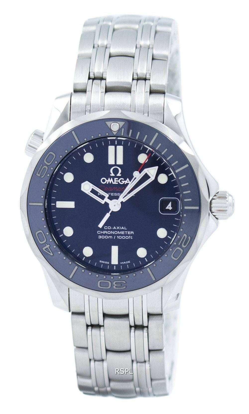 オメガ シーマスター コーアクシャル ダイバー 300 M クロノメーター 212.30.36.20.03.001 ユニセックス腕時計