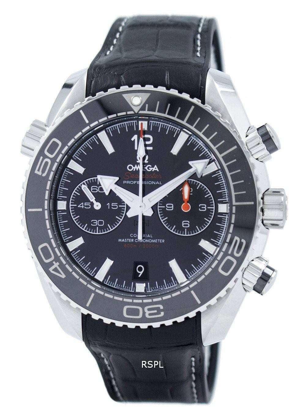 オメガ シーマスター プラネット ・ オーシャン 600 M コーアクシャル クロノグラフ 215.33.46.51.01.001 メンズ腕時計