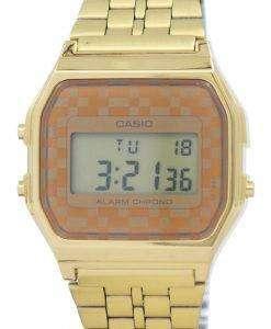 カシオ ヴィンテージ クロノグラフ アラーム デジタル A159WGEA 9A メンズ腕時計