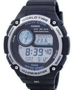 カシオ青年照明世界時間デジタル公認会計士-100-1AV CPA100-1AV メンズ腕時計