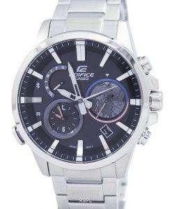 カシオ スマート フォン リンク デュアル タイム アナログ EQB-600 D-1 a EQB600D-1 a メンズ腕時計