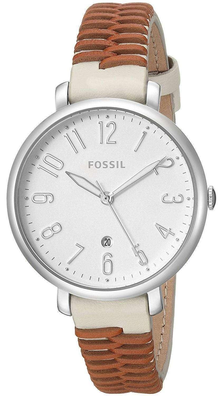 化石ジャクリーン石英 ES4209 レディース腕時計