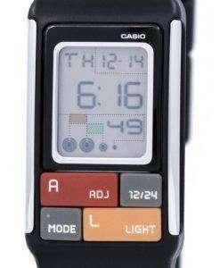 カシオ Poptone デュアル タイム デジタル LDF 50 1d LDF50-1 D 女性の腕時計