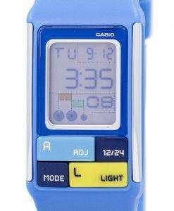 カシオ Poptone デュアル タイム アラーム デジタル LDF の 50 の 2次元 LDF50 2 D レディース腕時計