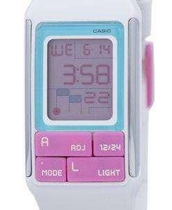 カシオ Poptone デュアル タイム アラーム デジタル LDF-51-7 C LDF51-7 C レディース腕時計