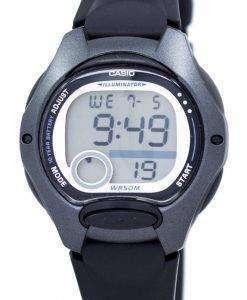 カシオ照明デュアル タイム アラーム デジタル LW 200 1BV LW200 1BV レディース腕時計