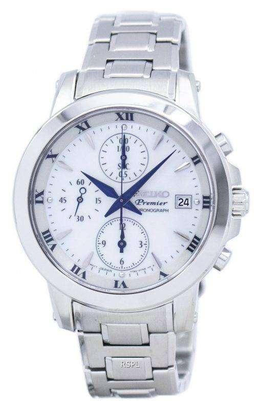 プレミア クロノグラフ クォーツ SNDV71 SNDV71P1 SNDV71P レディース腕時計