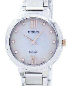 セイコー ソーラー ダイヤのアクセント SUP381 SUP381P1 SUP381P レディース腕時計