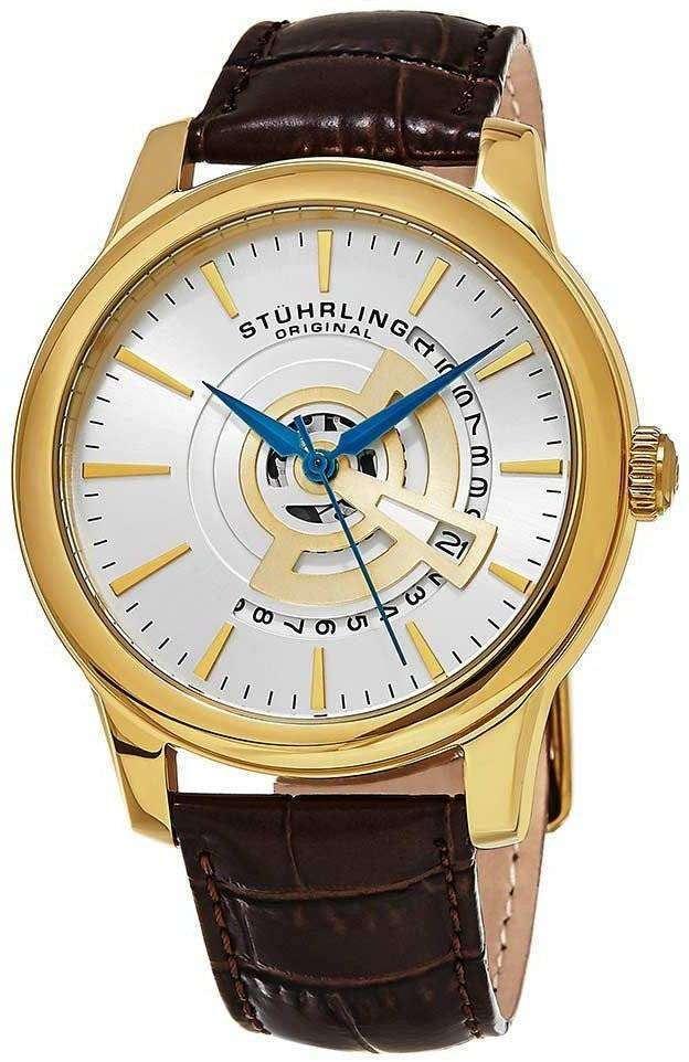 Stuhrling 交響曲石英 787.03 メンズ腕時計