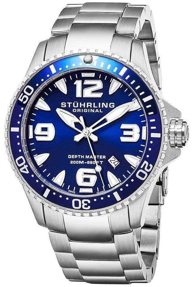 Stuhrling レガッタ 200 M クオーツ 842.01 メンズ腕時計