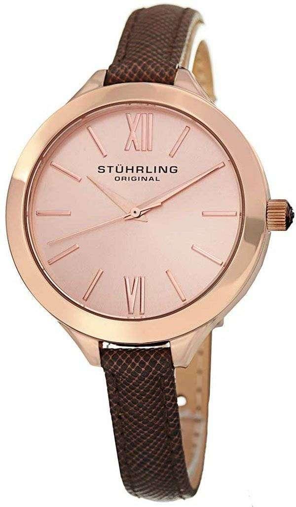 Stuhrling ヴォーグ石英 975.04 レディース腕時計
