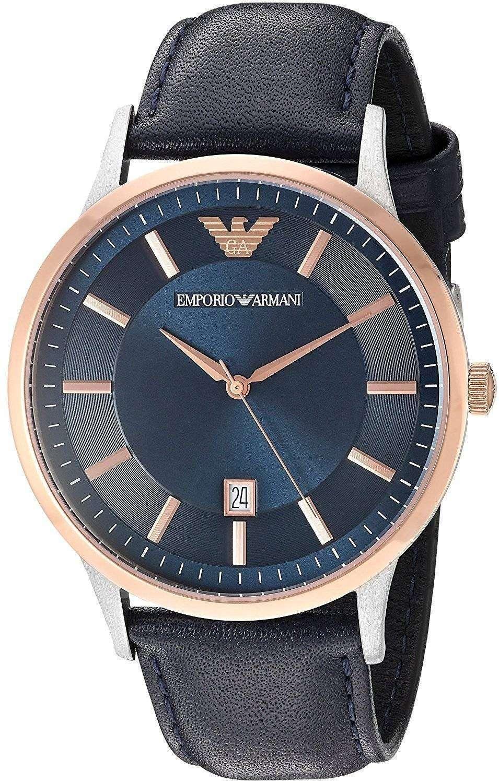 エンポリオ ・ アルマーニ レナート石英 AR2506 メンズ腕時計