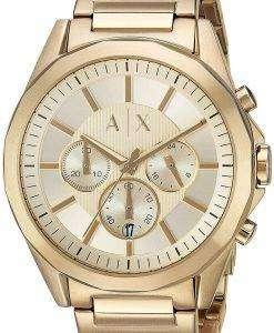 アルマーニエクス チェンジ クロノグラフ クォーツ AX2602 メンズ腕時計