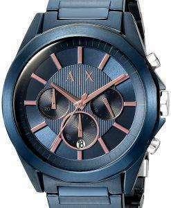 アルマーニエクス チェンジ クロノグラフ クォーツ AX2607 メンズ腕時計