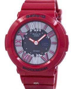 カシオベビー-G アナログ デジタル BGA 160 4BDR レディース腕時計