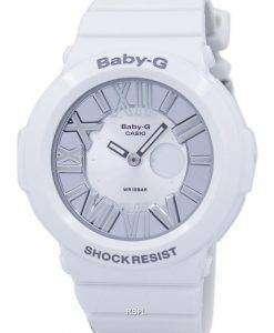 カシオベビー-G Ana-オンラインアラームクロノ ネオン照明 BGA 160 7B1 レディース腕時計