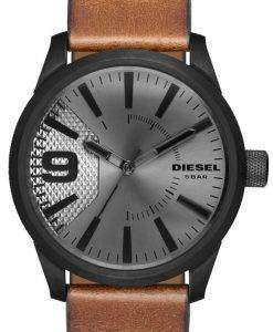 ディーゼルの時間枠の石目やすり石英 DZ1764 メンズ腕時計