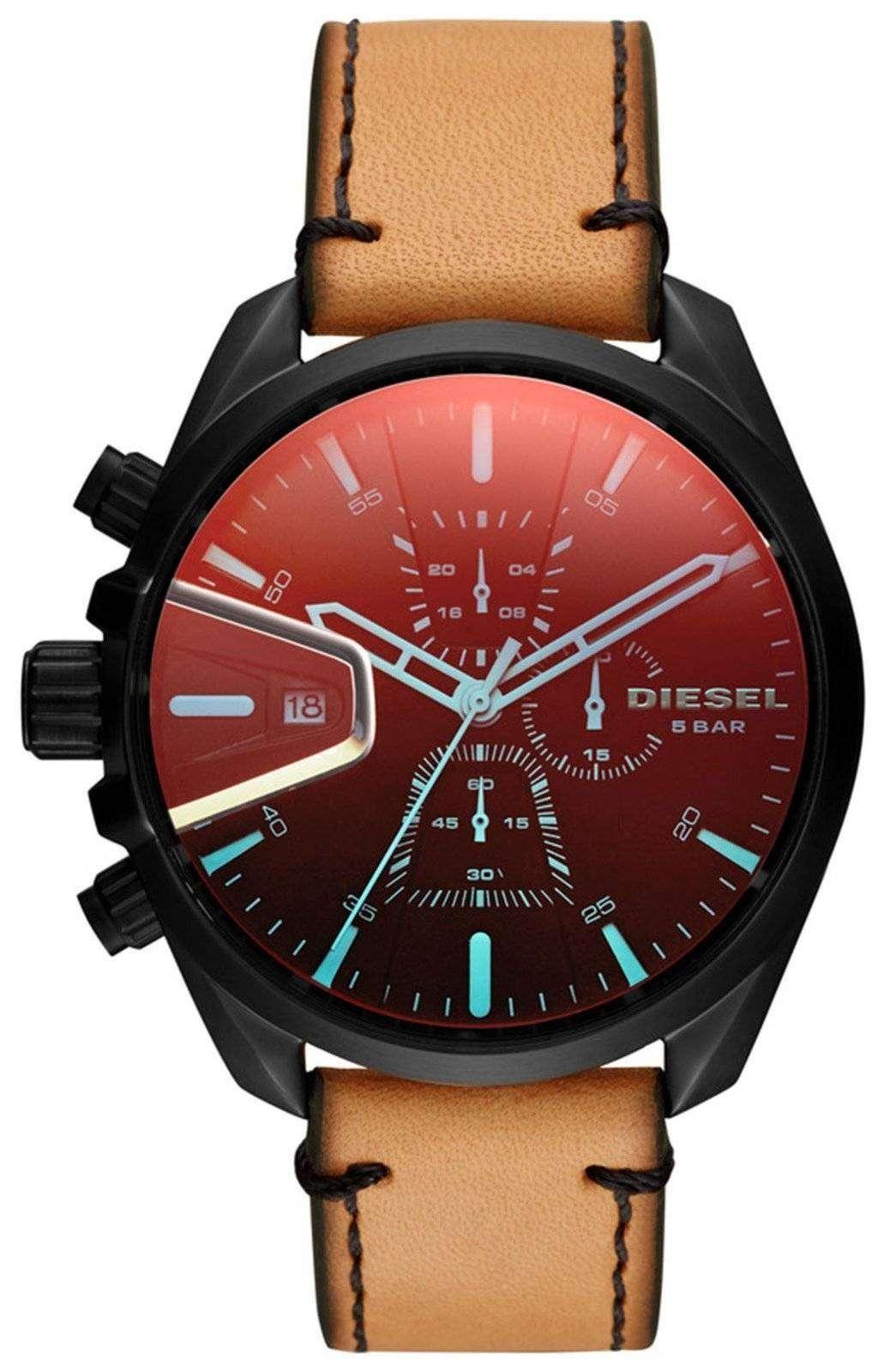 ディーゼルの時間枠 MS9 クロノグラフ クォーツ DZ4471 メンズ腕時計