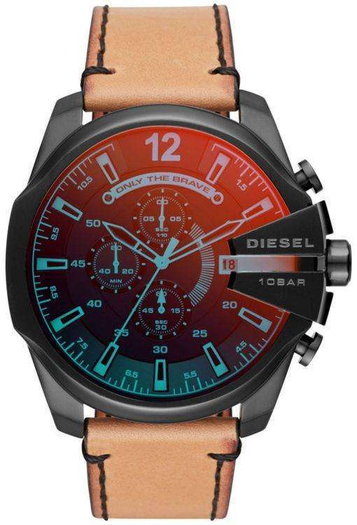 ディーゼルの時間枠メガ チーフ クロノグラフ クォーツ DZ4476 メンズ腕時計