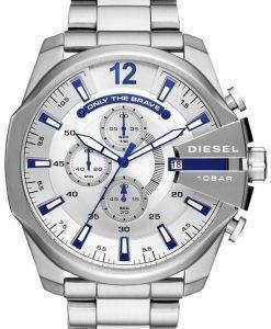 ディーゼルの時間枠メガ チーフ クロノグラフ クォーツ DZ4477 メンズ腕時計