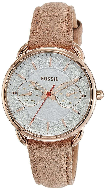 化石テーラー多機能クォーツ ES4007 レディース腕時計