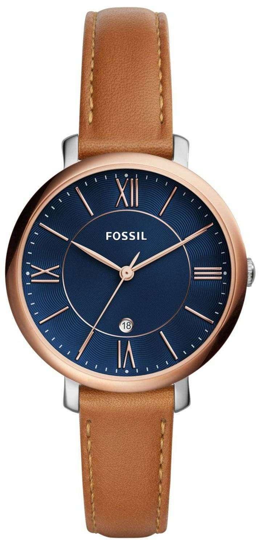 化石ジャクリーン石英 ES4274 レディース腕時計
