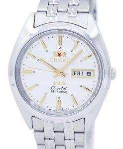 オリエント星クリスタル自動 FAB0000DW メンズ腕時計